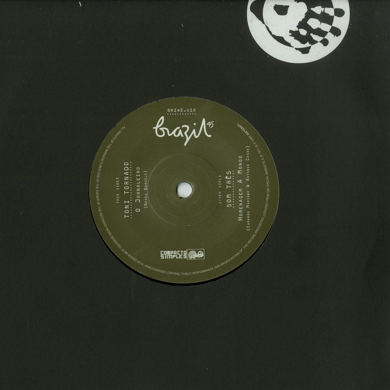 Toni Tornado / Som Tres - O JOURNALEIRO / HOMENAGEM A MONGO / 7 INCH