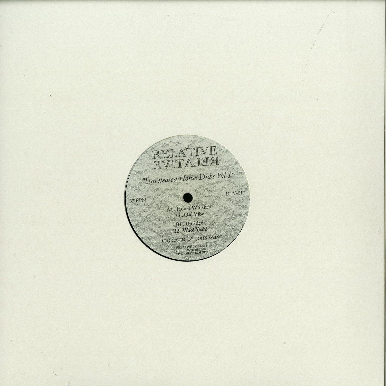 John Swing - Unreleased House Dubs Vol 1