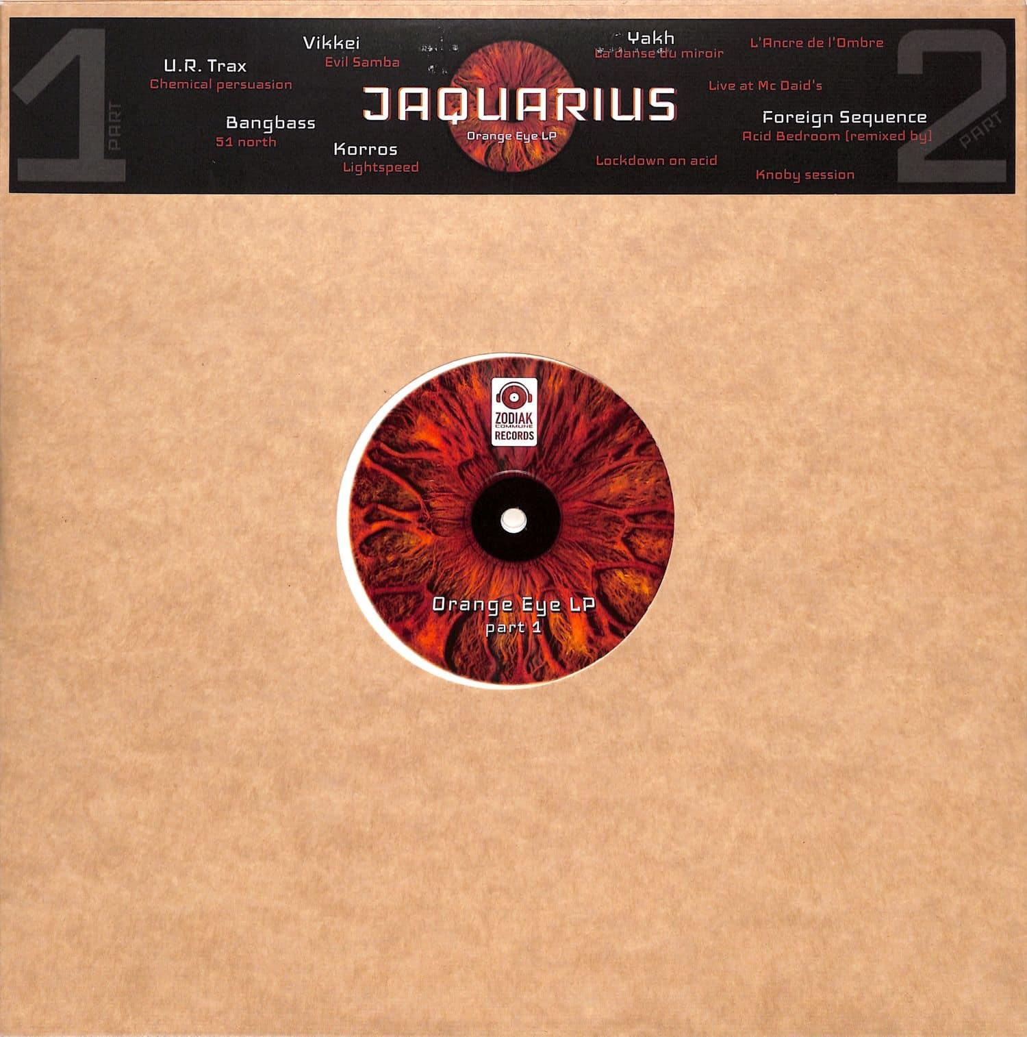 Jaquarius & more - ORANGE EYE LP PART 1