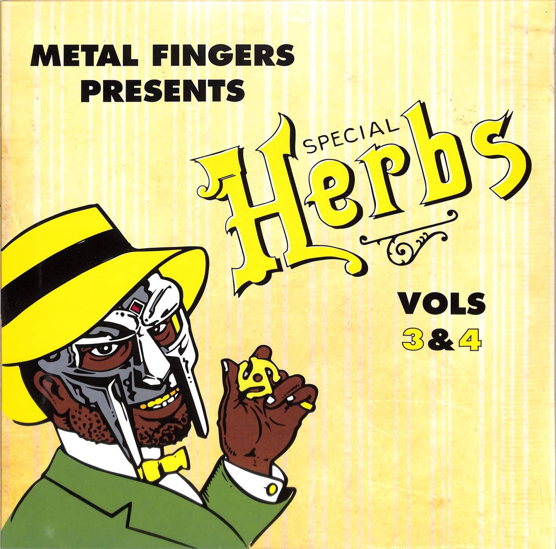 MF Doom - SPECIAL HERBS VOL. 3 & 4