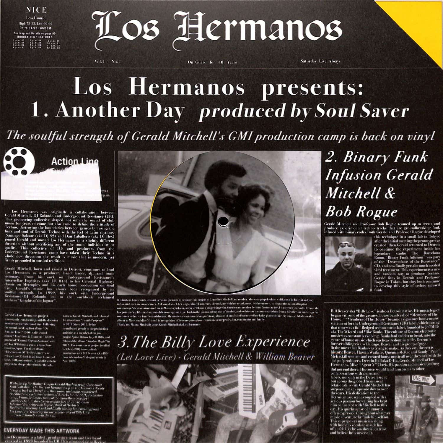 Los Hermanos  - ANOTHER DAY/ BINARY FUNK INFUSION/ LET LOVE LIVE
