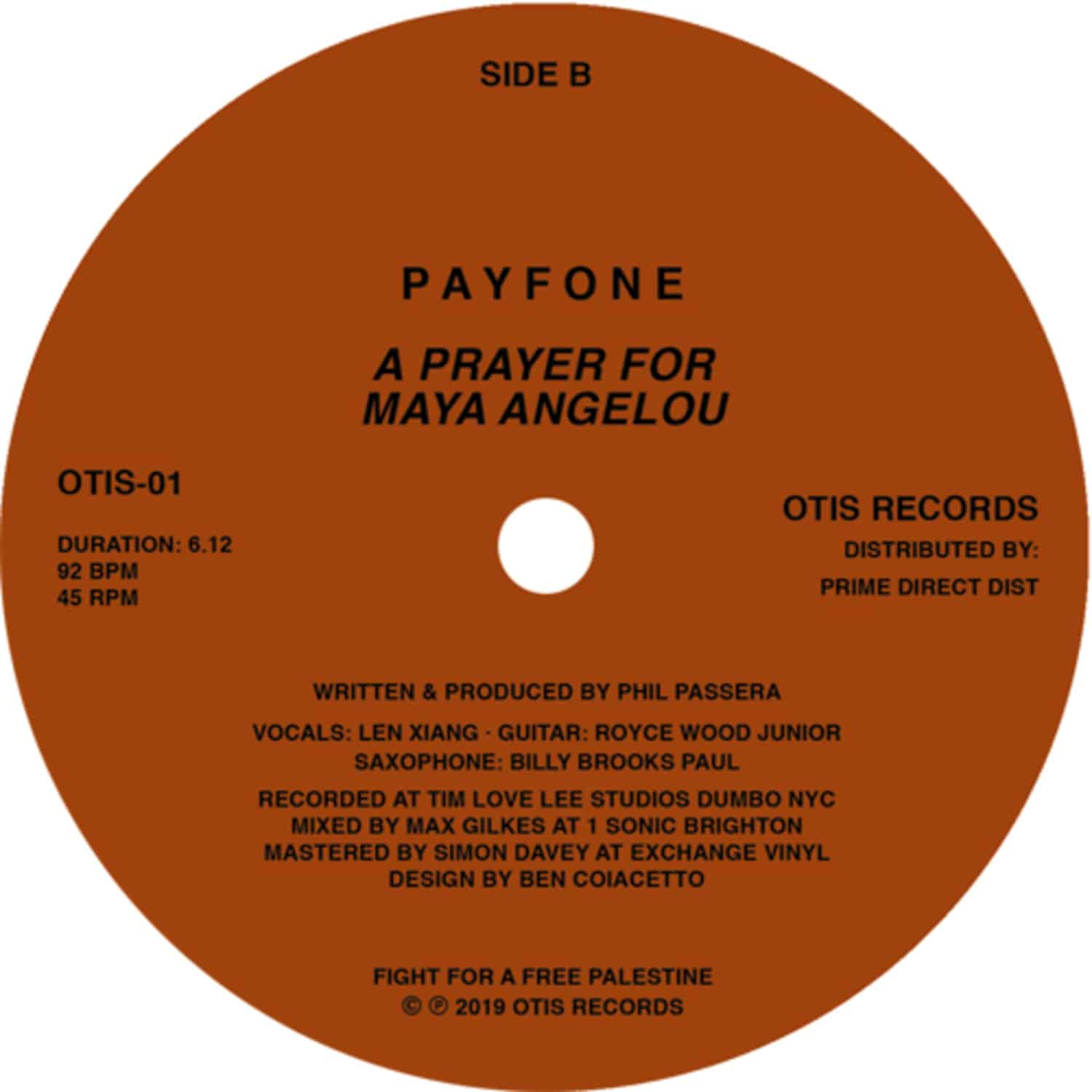 Payfone - I WAS IN NEW YORK / A PRAYER FOR MAYA ANGELOU