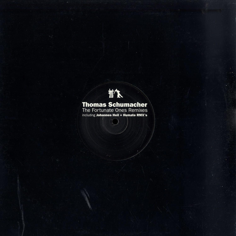 Thomas Schuhmacher - THE FORTUNATE ONES REMIXES - JOHANNES HEIL MIX