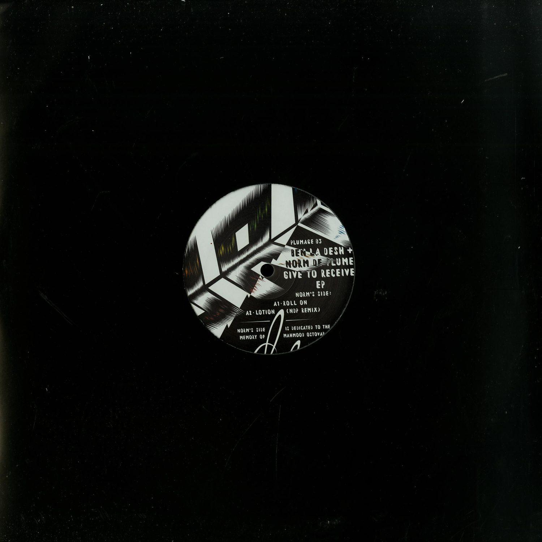 Ben La Desh & Norm De Plume - GIVE TO RECEIVE EP