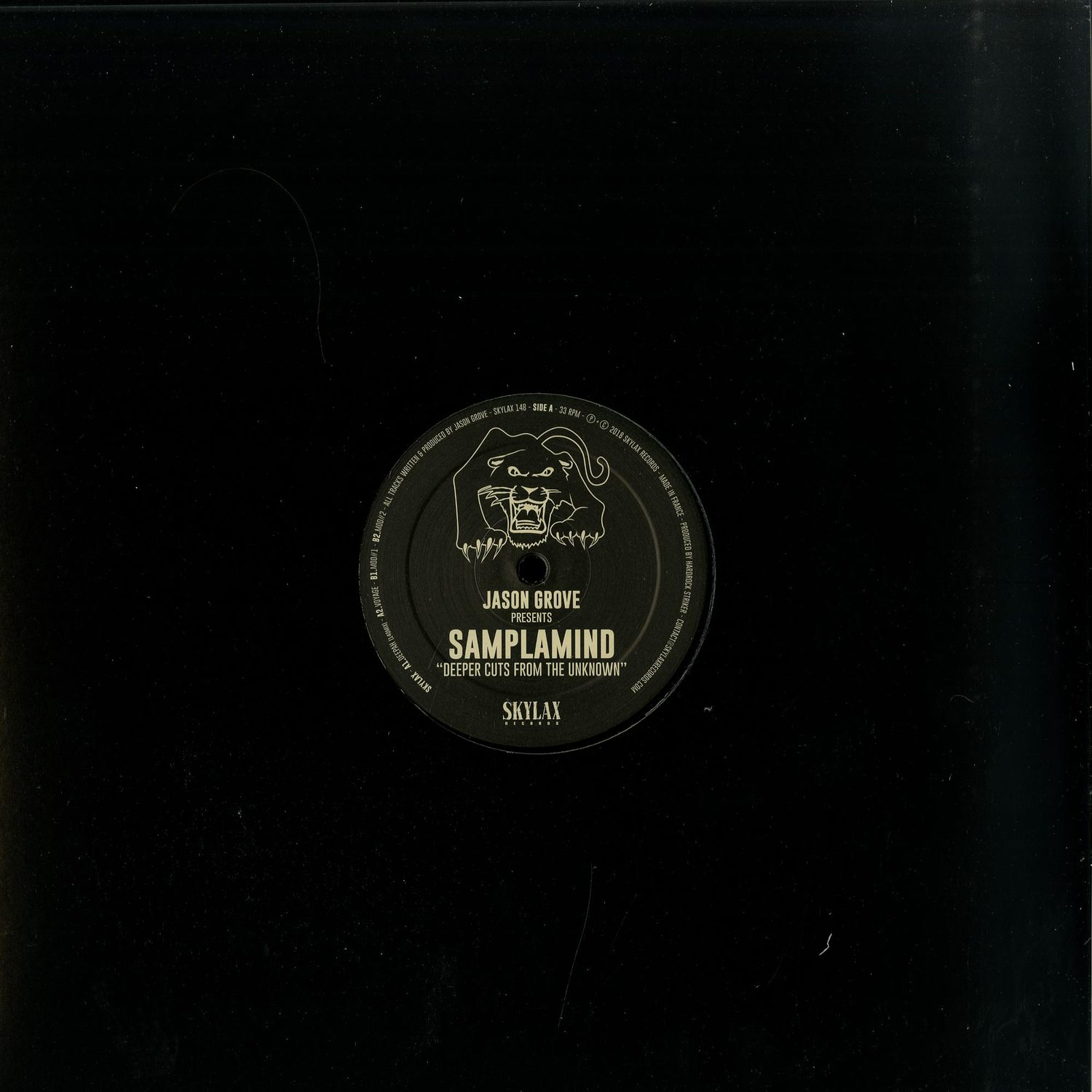 Jason Grove presents SAMPLAMIND - DEEPER CUTS FROM THE UNKNOW
