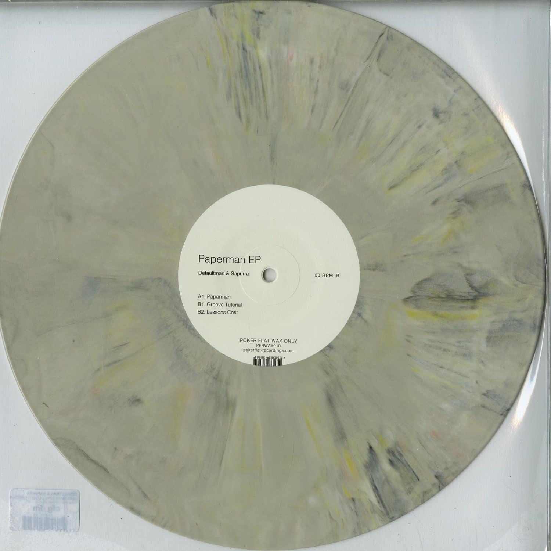 Defaultman & Sapurra - PAPERMAN EP