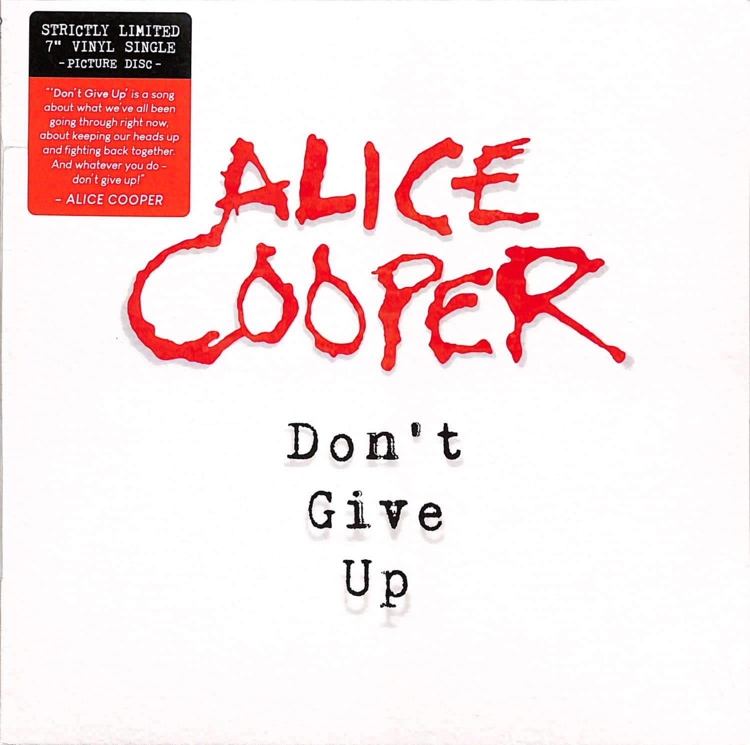 Alice Cooper - DONT GIVE UP