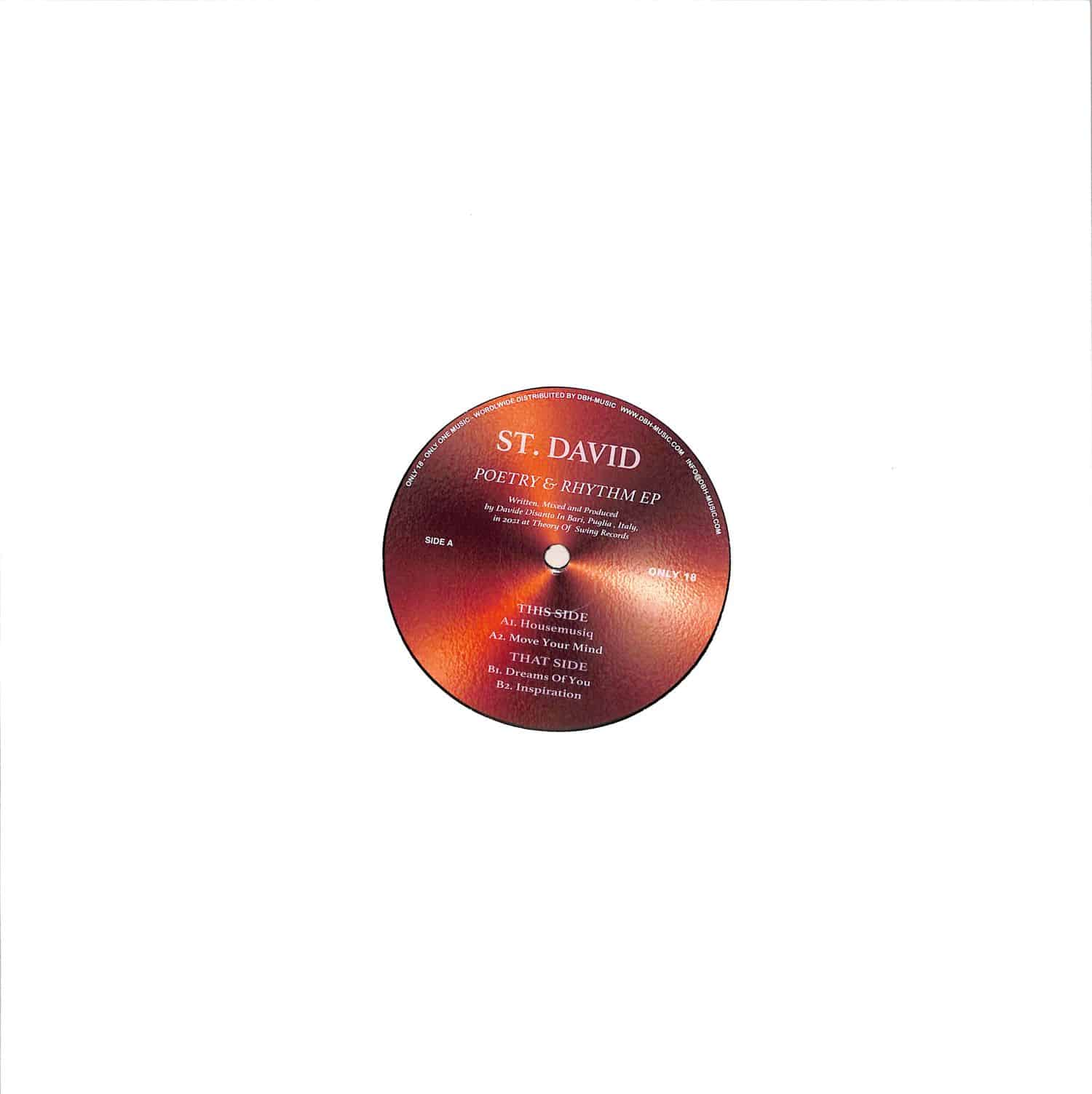 St. David - POETRY & RHYTHM EP