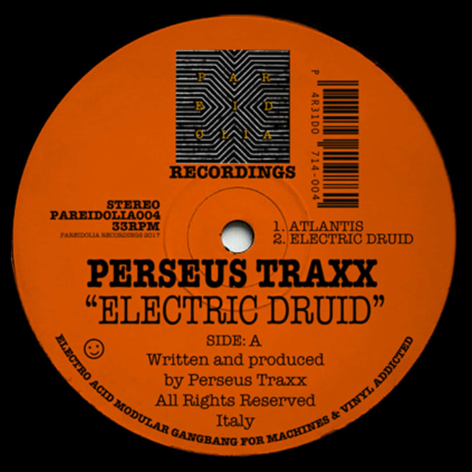 Perseus Traxx - ELECTRIC DRUID