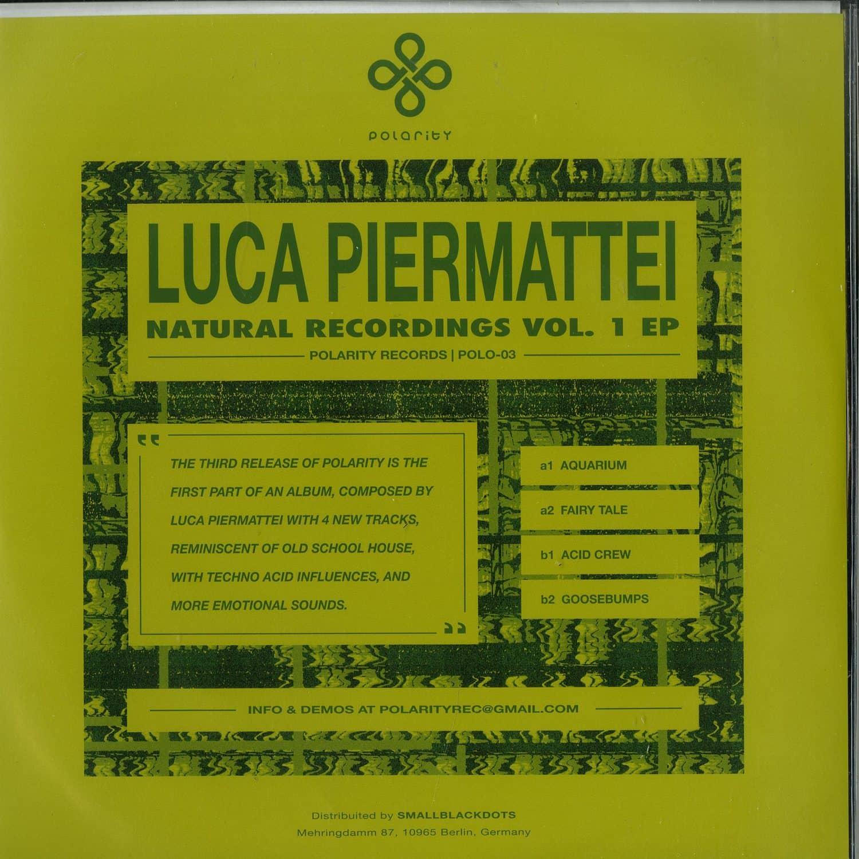 Luca Piermattei - NATURAL RECORDINGS VOL. 1 EP
