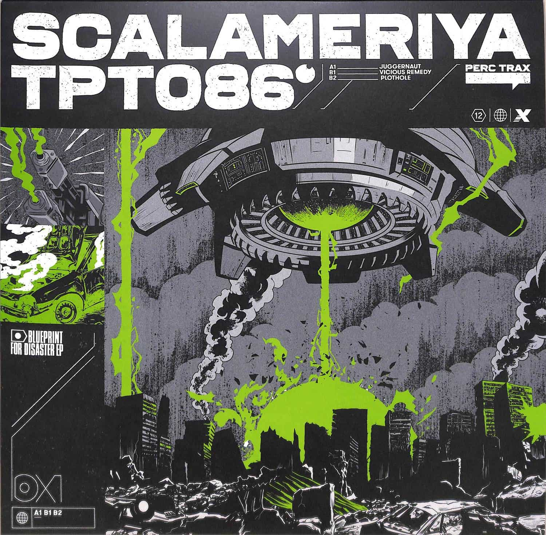 Scalameriya - BLUEPRINT FOR DISASTER EP