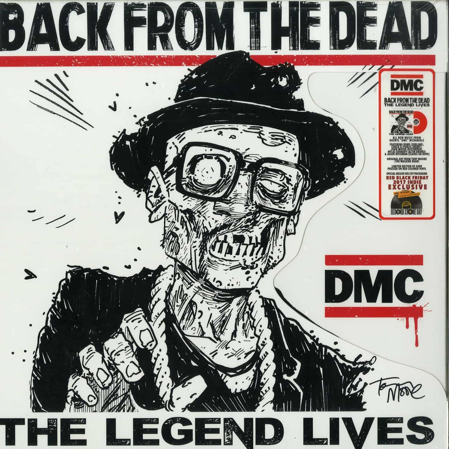 DMC  - BACK FROM THE DEAD