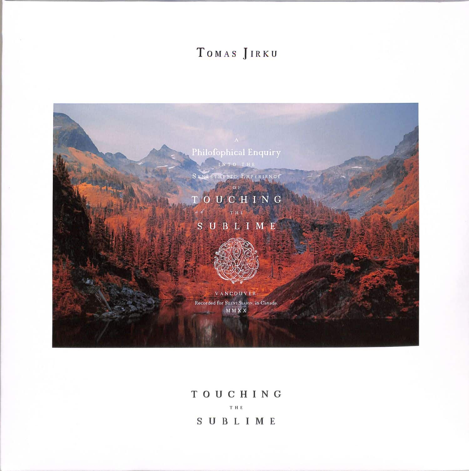 Tomas Jirku - TOUCHING THE SUBLIME