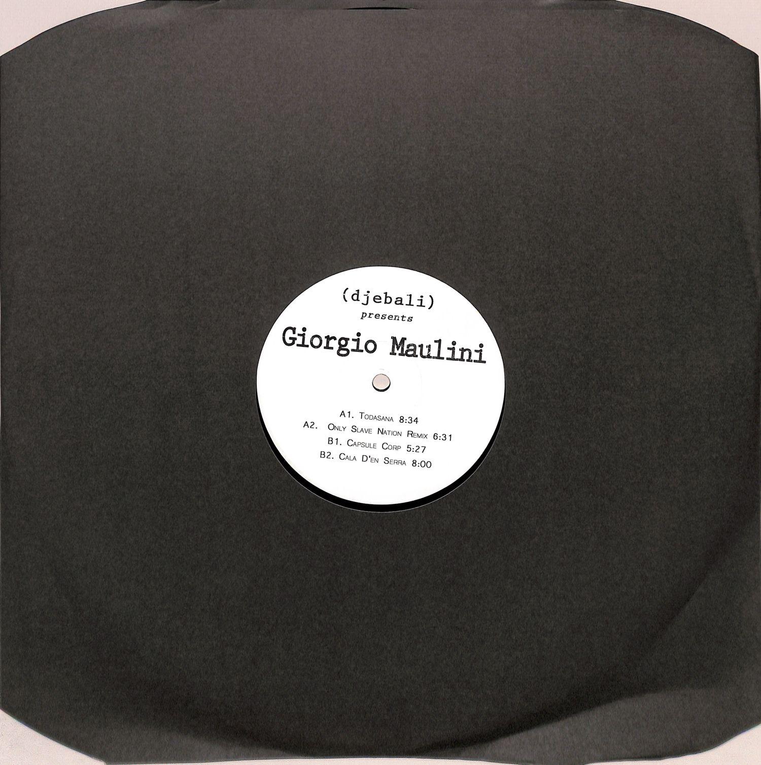 Giorgio Maulini - EP ONLY SLAVE NATION RMX