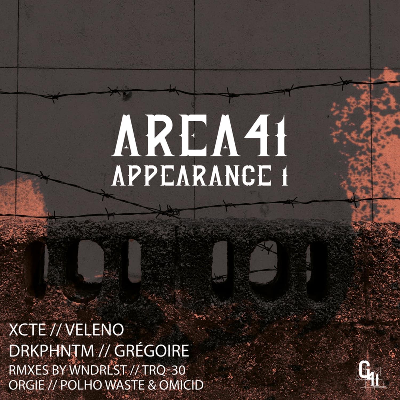 Various Artist - AREA41 APPEARANCE1