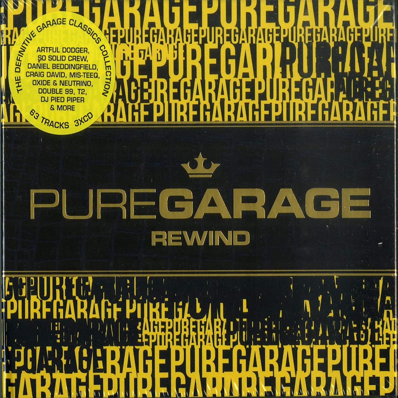 Various Artists - PURE GARAGE REWIND
