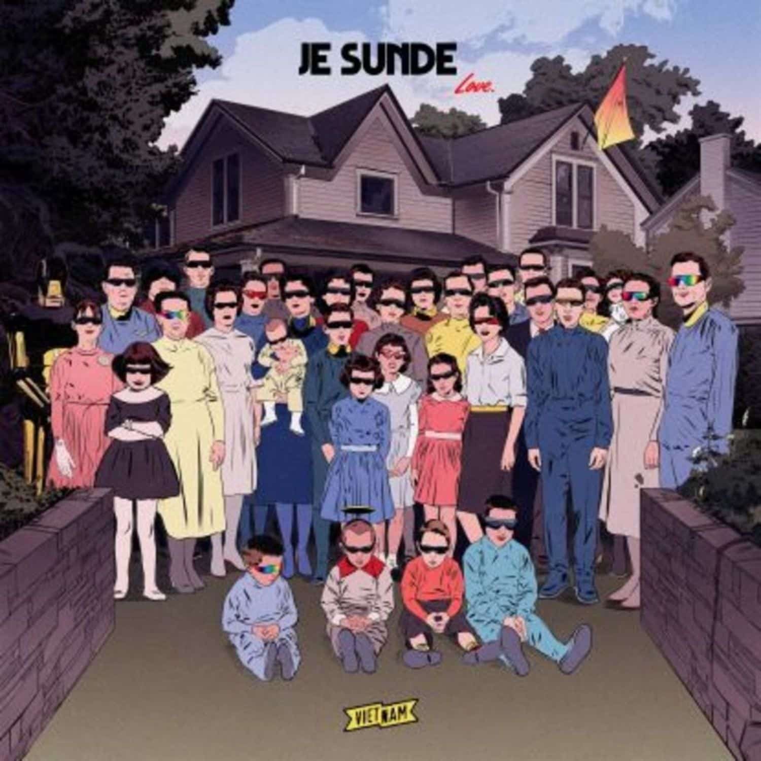 J.E. Sunde - 9 SONGS ABOUT LOVE
