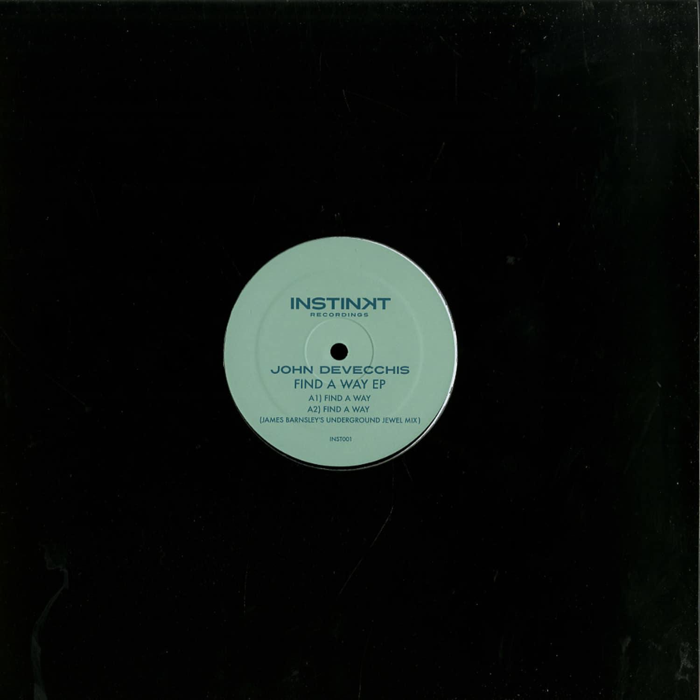 John Devecchis - FIND A WAY EP