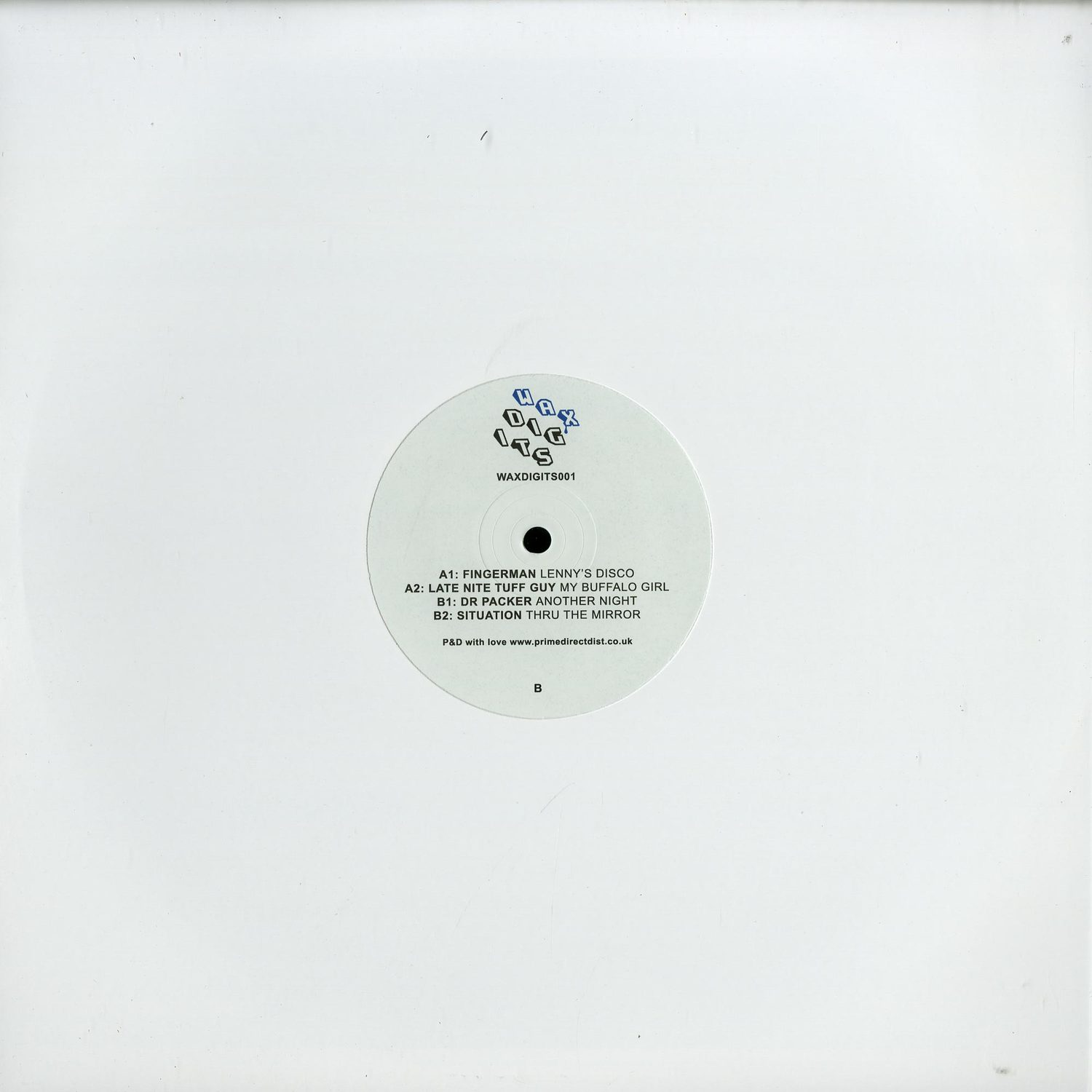 Various Artists - WAX DIGITS 001
