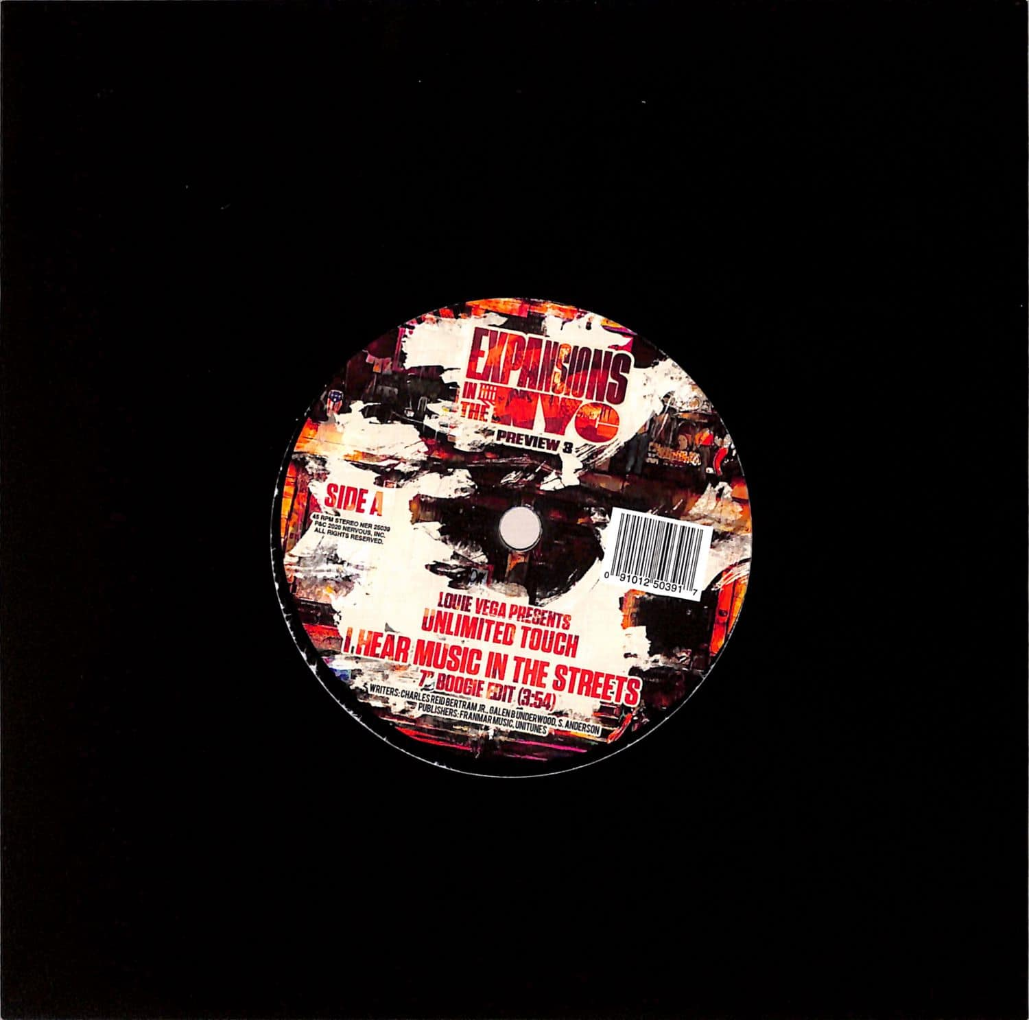 Louie Vega pres. Unlimited Touch - I HEAR MUSIC IN THE STREETS