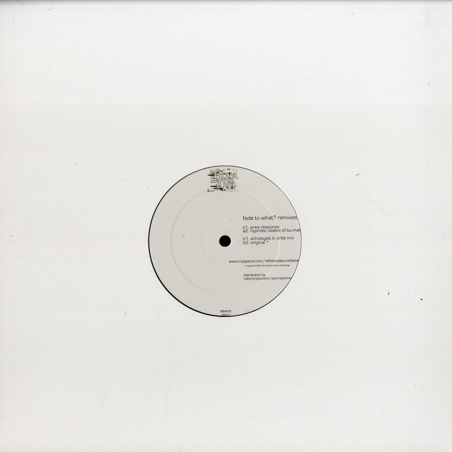 Anton Zap - FADE TO WHAT ?