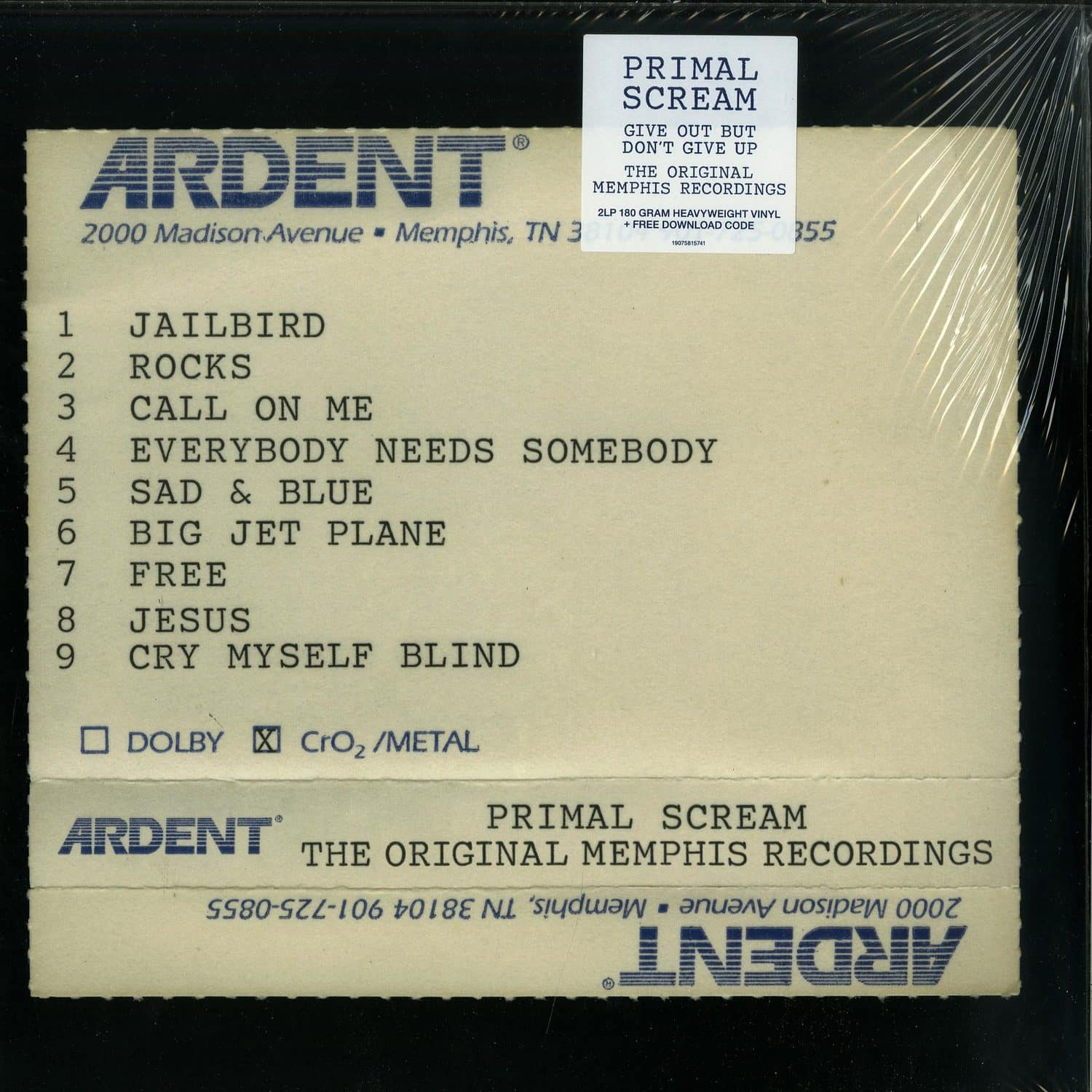 Primal Scream - GIVE OUT BUT DONT GIVE UP