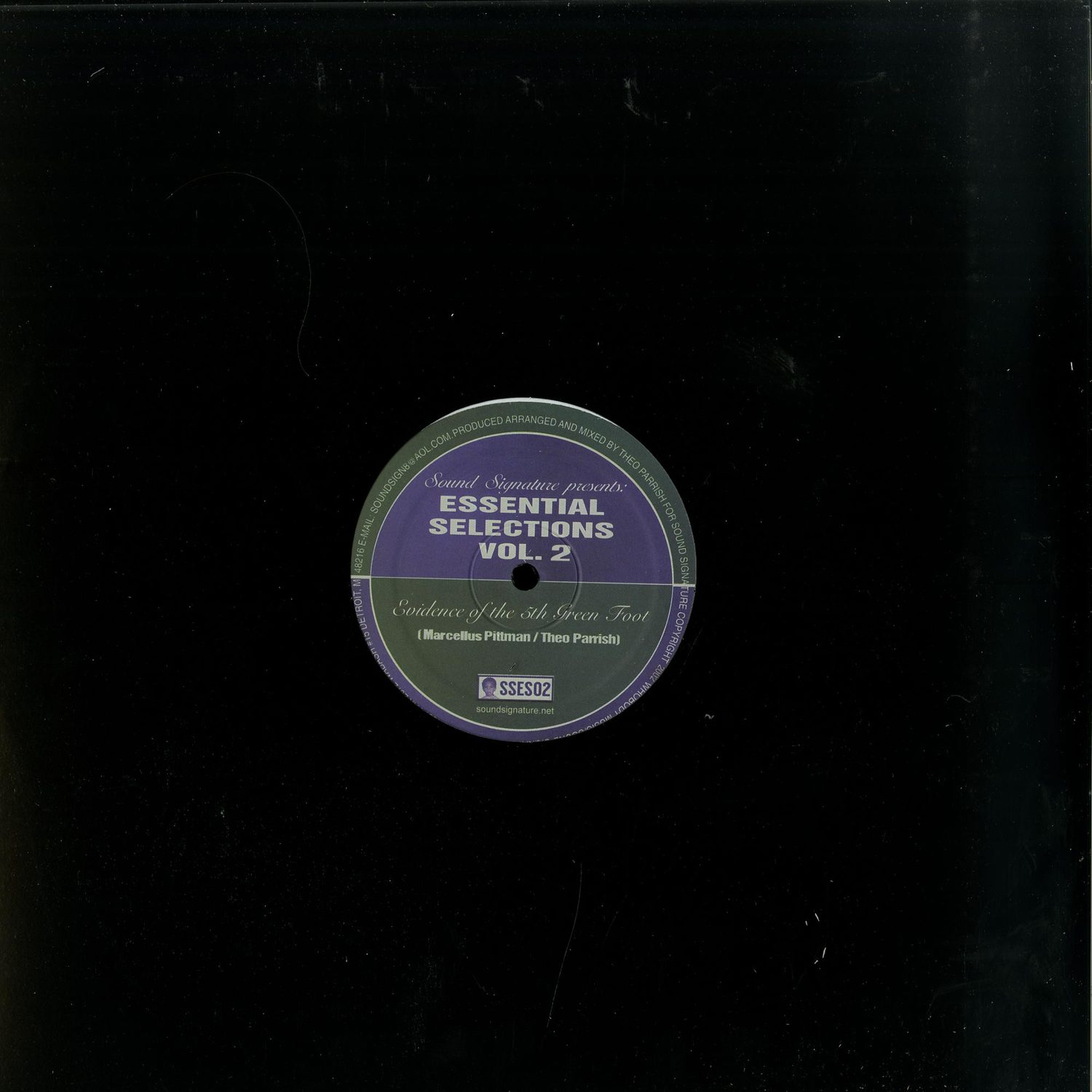 Marcellus Pittman / Theo Parrish - ESSENTIAL SELECTIONS VOL. 2