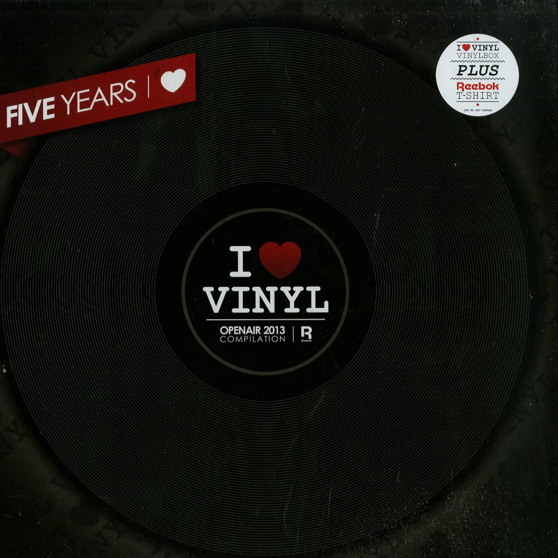 I Love Vinyl - OPEN AIR 2013 COMPILATION BOX