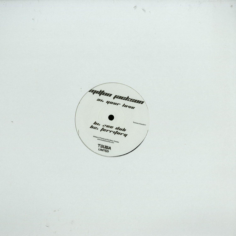 Milton Jackson - YOUR LOVE EP