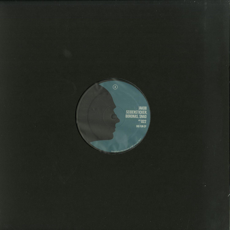 Jakob Seidensticker & Boronas & Snad - BIG FUN EP