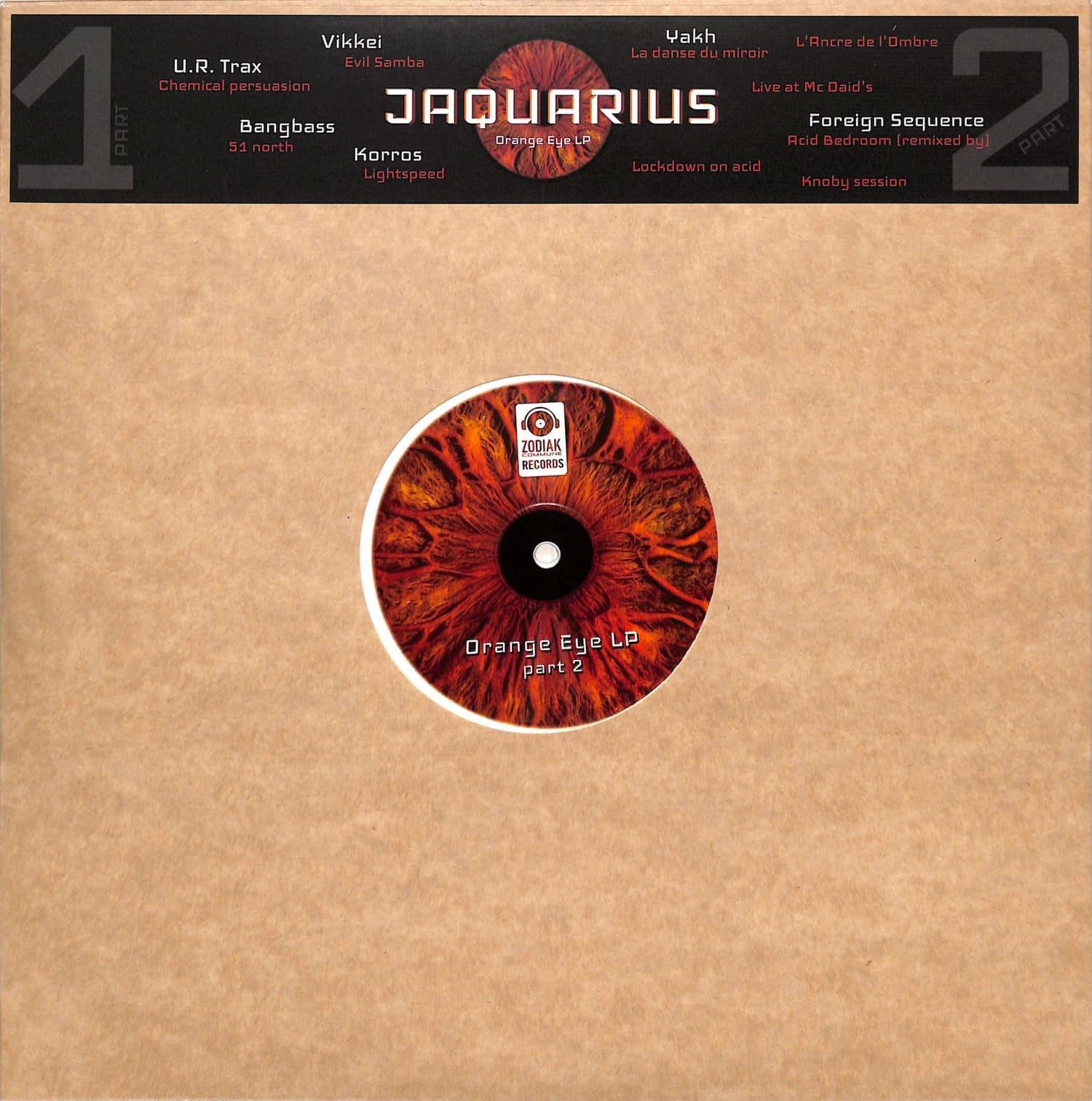 Jaquarius - ORANGE EYE LP PART 2
