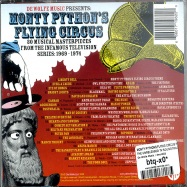 Back View : Monty Pythons Flying Circus Present - THE UNRELEASED TV SOUNDTRACK 1969 - 1974 (CD) - De Wolfe Music / dwcr003