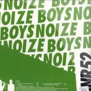 Back View : Boys Noize - NOTT, TROOPER R. HOOD, PHON O RMXS , SHADOW DANCER RMX (2x12) - Boys Noize / BNR052