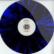 Back View : Alexey Volkov - DUST (BLACK / BLUE SPLATTERED VINYL) - Planete Rouge / PLR1202