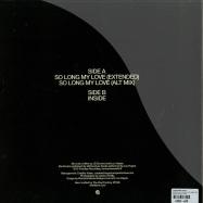 Back View : Tomorrows World - INSIDE & SO LONG MY LOVE (180G VINYL) - The Vinyl Factory / VF049
