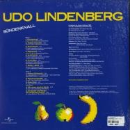 Back View : Udo Lindenberg - SUENDENKNALL (180G LP + MP3) - Universal / 6706641