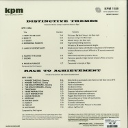 Back View : Nick Ingman - DISTINCTIVE THEMES / RACE TO ACHIEVEMENT THE KPM REISSUES)(LP, 180 G VINYL) - Be With Records / BEWITH042LP