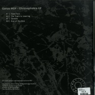 Back View : Gonzo MDF - CHRONOPHOBIA EP - Counterweight / CWT005
