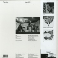 Back View : Placebo (Marc Moulin) - LIVE 1971 (180G,HALF SPEED,OBI,STICKER) - We Release Jazz / WRJ005LTD