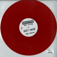 Back View : Various Artists - HARD WORK/YOU ARE A SLAVE REMIXES (COLOURED VINYL) - Inudstria / IND003
