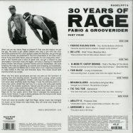 Back View : Fabio & Grooverider - 30 YEARS OF RAGE PART 4 (2XLP) - Above Board Projects / RAGELPPT4