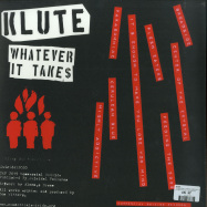 Back View : Klute - WHATEVER IT TAKES (GREEN LP + MP3) - Commercial Suicide / SUICIDELP020