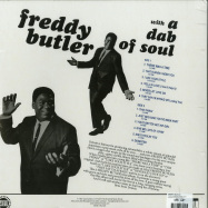 Back View : Freddy Butler - WITH A DAB OF SOUL (LP) - Everland / EVERLAND040LP