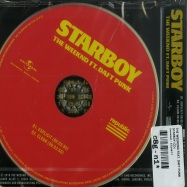 Back View : The Weeknd feat. Daft Punk - STARBOY (2-TRACk-MAXI-CD) - Universal / 5724677