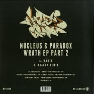 Back View : Nucleus & Paradox - WRATH EP PART 2 - Metalheadz / META49