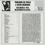 Back View : Paulinho Da Viola E Elton Medeiros - SAMBA NA MADRUGADA (180G LP) - Polysom (Brazil) / 333361