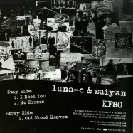 Back View : Luna-C & Saiyan - A CONSPIRACY OF AWESOME EP - Kniteforce Records / KF80