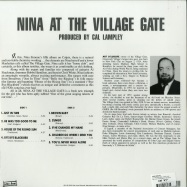 Back View : Nina Simone - AT THE VILLAGE GATE (LP) - Wax Love / WLVLP82121 / 00132679