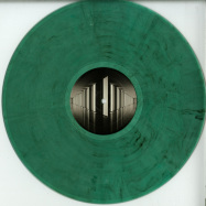 Back View : Various Artists - TIME TRAVEL (GREEN MARBLED VINYL) - Binary Cells / BCS006