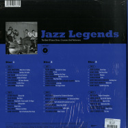 Back View : Various Artists - JAZZ LEGENDS BOX (3LP BOX + POSTER) - Wagram / 3369336 / 05179731